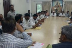 Joint meeting with MP PMRDA and ZP officials