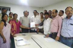 Meeting at PMRDA with Mr Vikram Kumar and MLA Adv. Ashok Pawar