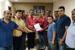 Meeting with MLA Ashok Pawar