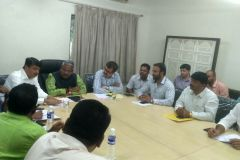 MP Mr. Shivajirao Adhalrao Patil Joint Meeting with various departments